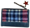 Coach Plaid Wool Coach Wallet