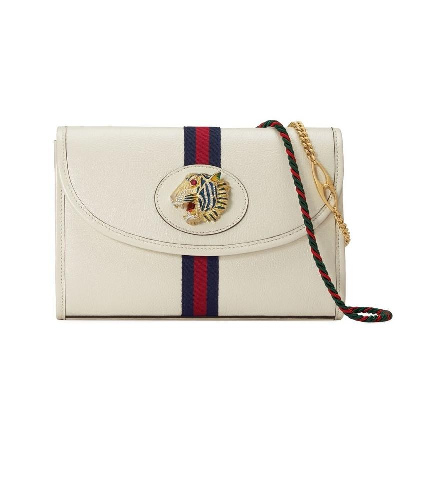 2ca48d9359 Gucci New Small Rajah White Leather Shoulder Bag - Tradesy