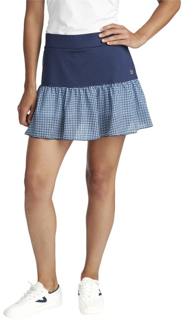 Item - Deep Bay 15 Inch Printed Gingham Sport Tennis Activewear Bottoms Size 6 (S, 28)