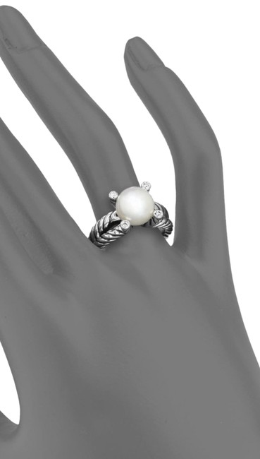 Item - Pearl Cable Diamond Ring