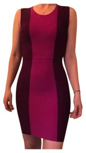 1a1f67e98f77 BCBGMAXAZRIA Purple and Pink 00 Short Night Out Dress Size 6 (S ...