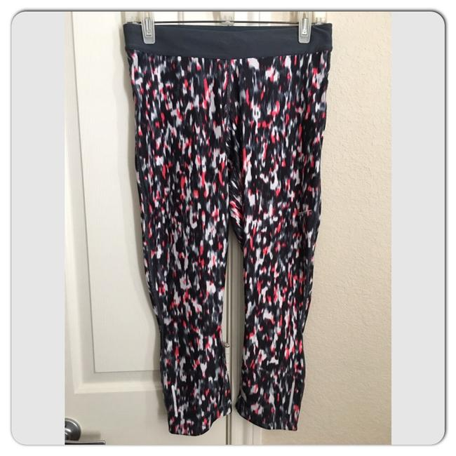 Item - Relay Print Running Tights Activewear Bottoms Size 8 (M)