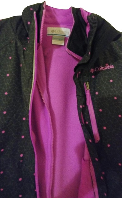 Item - Purple Turquoise; Pink and Black Weatherproof (2 Coat Size 14 (L)