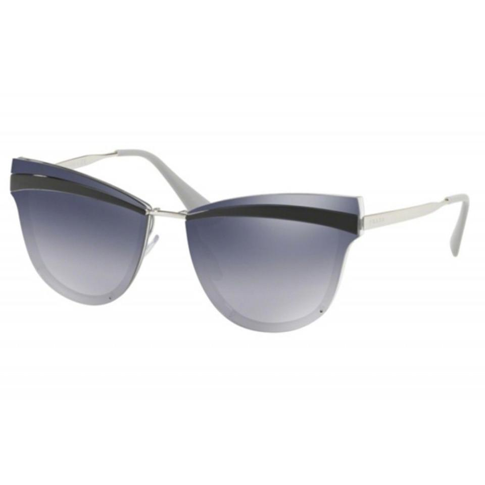 620a9940d98a Silver Prada Sunglasses - Up to 70% off at Tradesy