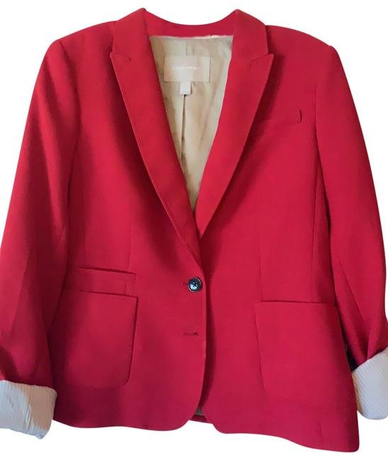 Item - Red Jacket Pant Suit Size 10 (M)