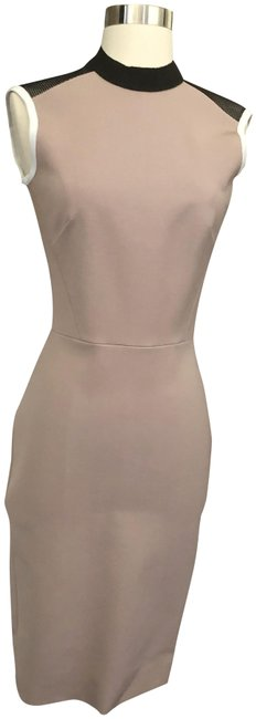 Preload https://img-static.tradesy.com/item/25160073/victoria-beckham-blush-high-neck-fitted-mid-length-cocktail-dress-size-2-xs-0-1-650-650.jpg