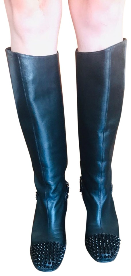 73dffdf1a88 Spiked Riding Boots/Booties