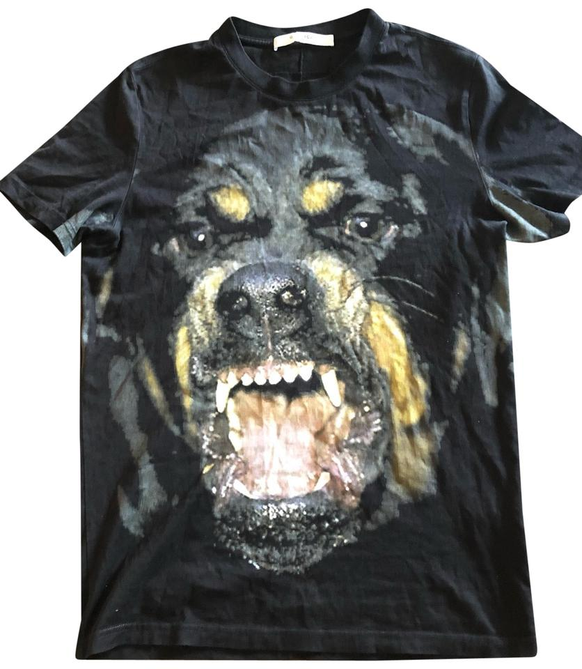 66f31c1fcf2 Givenchy Black Snarling Rottweiler Dog T-shirt Tee Shirt Size 2 (XS ...