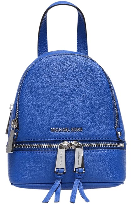 Item - Crossbody XS Rhea Zip School Travel Crossbody(New with Tags) Electric Blue/Silver Hardware Venus Leather Backpack