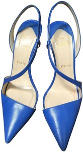 Christian Louboutin Heels Blue Pumps