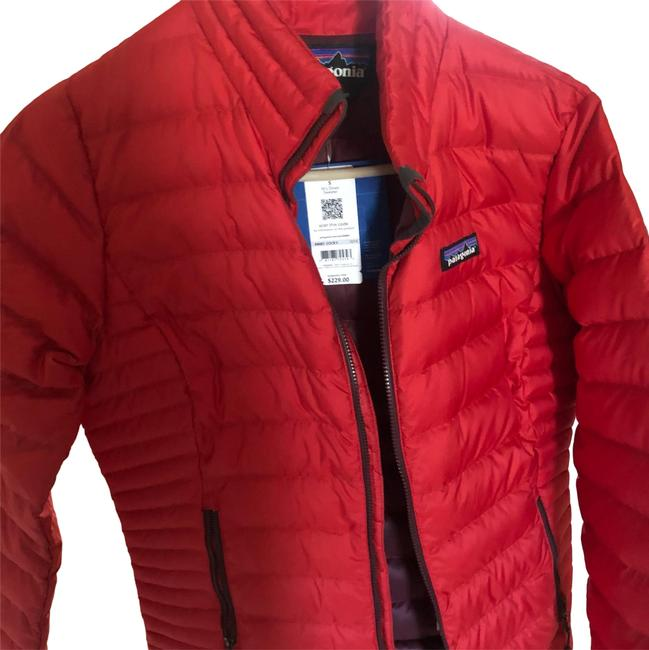 Item - Red Down Jacket Coat Size 6 (S)