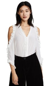 Alice + Olivia Top white new with tag