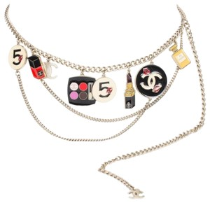Chanel authentic vintage Chanel rare make-up charm runway belt