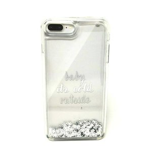 Kate Spade Kate Spade Baby It's Cold Outside Liquid Glitter Case iPhone 7 8 Plus