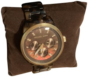 Michael Kors MICHAEL KORS Jet Set Tortoise Shell Ladies Watch