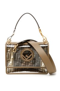 Fendi Mini I Kan I Ff Logo Shoulder Bag