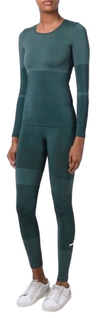 Item - Green Matching Forest Top and Tights Activewear Bottoms Size 4 (S)