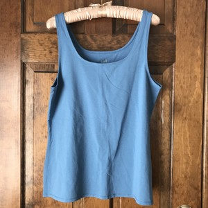 e10dda3179eea J. Jill New With Tags Perfect Cotton Spandex Large Machine Wash Top Azurite  Blue