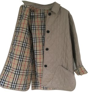 4276dab8c00a7 Burberry Quilted Cafe au lait Jacket