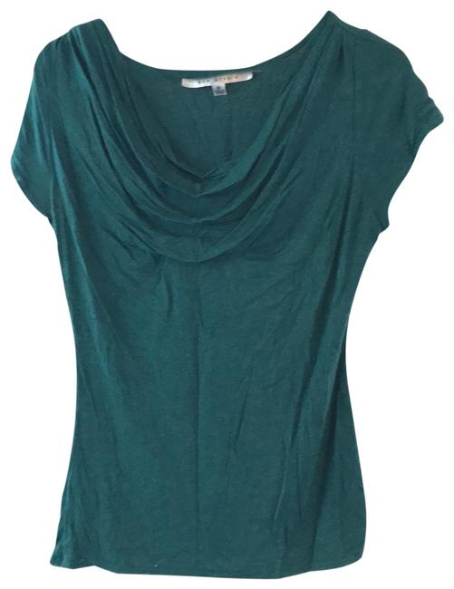 Item - Green Cow Neck Blouse Size 8 (M)