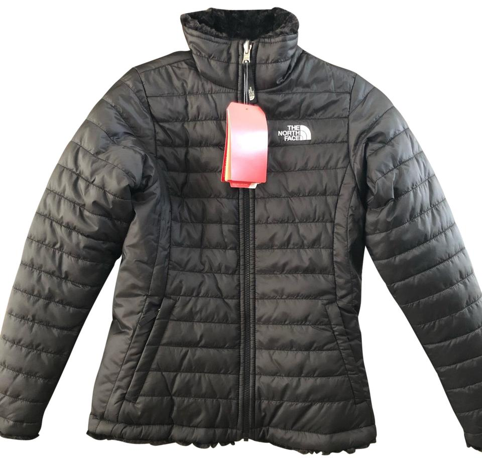 2f1ccd2d7 The North Face Black *youth Large* Girls' Reversible Mossbud Swirl  Insulated Jacket Coat Size 14 (L) 35% off retail