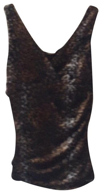 Item - Unknown Black/Brown/ White/Grey Top