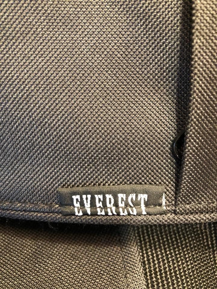 78190513d Everest Never Used Black and Gray Canvas Laptop Bag - Tradesy