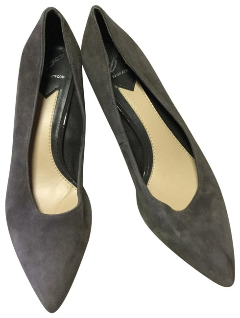 Item - Gray Kendal Pointed Toe Suede Pumps Size US 8 Regular (M, B)