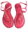 Chanel red Sandals Image 0