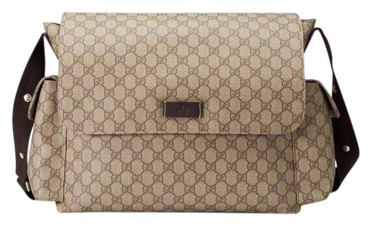Preload https://img-static.tradesy.com/item/25166717/gucci-gg-plus-beigeebony-leather-diaper-bag-0-1-540-540.jpg