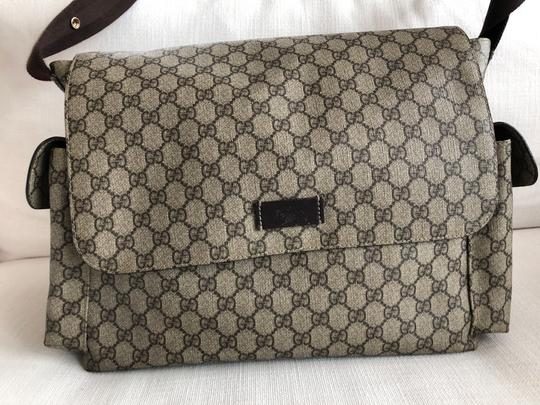 Gucci Beige/Ebony Diaper Bag Image 1