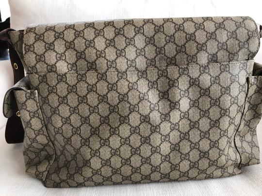 Gucci Beige/Ebony Diaper Bag Image 4