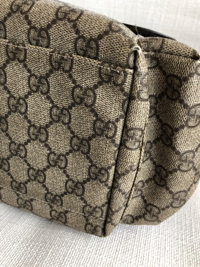 Gucci Beige/Ebony Diaper Bag Image 6
