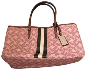c1035c5f7152 Juicy Couture Tote in pink with brown Scotty dog print tote