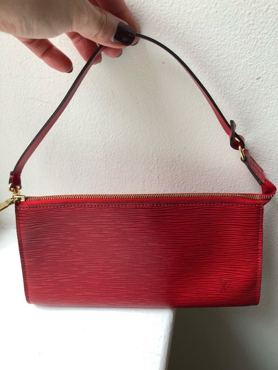 Louis Vuitton red Clutch Image 7