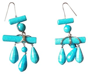 Calvin Klein 205W39NYC **SOLD OUT** CALVIN KLEIN 205W39NYC Imitation Turquoise Drop Earrings