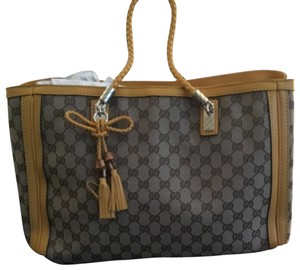57719fd85e3e Added to Shopping Bag. Gucci Tote in Yellow and Brown. Gucci Gg Bumblebee  ...