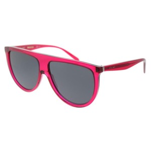 Céline Celine Thin Shadow CL41435 QJK Transparent Fuchsia Plastic Sunglasses