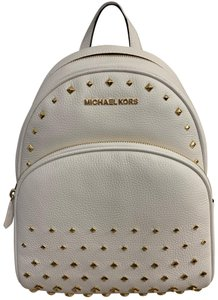 4e8b6748fab45f White Leather Michael Kors Backpacks - Over 70% off at Tradesy