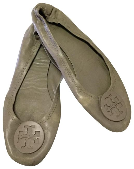 Item - Gray Minnie Travel Logo Ballet Flats Wedges Size US 8 Regular (M, B)
