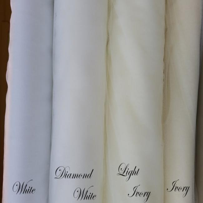 White Long Cathedral 90 Inches Bridal Veil White Long Cathedral 90 Inches Bridal Veil Image 3
