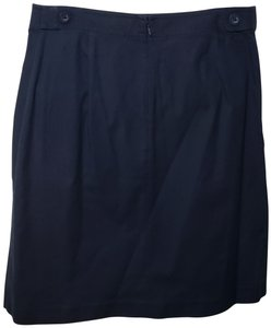 George Skirt Navy Blue