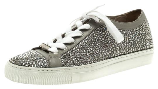 Preload https://img-static.tradesy.com/item/25169278/le-silla-grey-crystal-embellished-leather-lace-up-sneakers-flats-size-eu-36-approx-us-6-regular-m-b-0-1-540-540.jpg