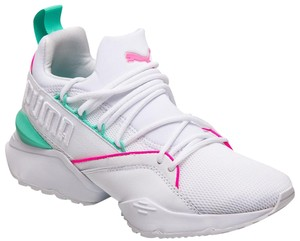 869cab8a4ac Puma White/Multicolor Muse Maia Sneakers Size US 9.5 Regular (M, B) 45% off  retail