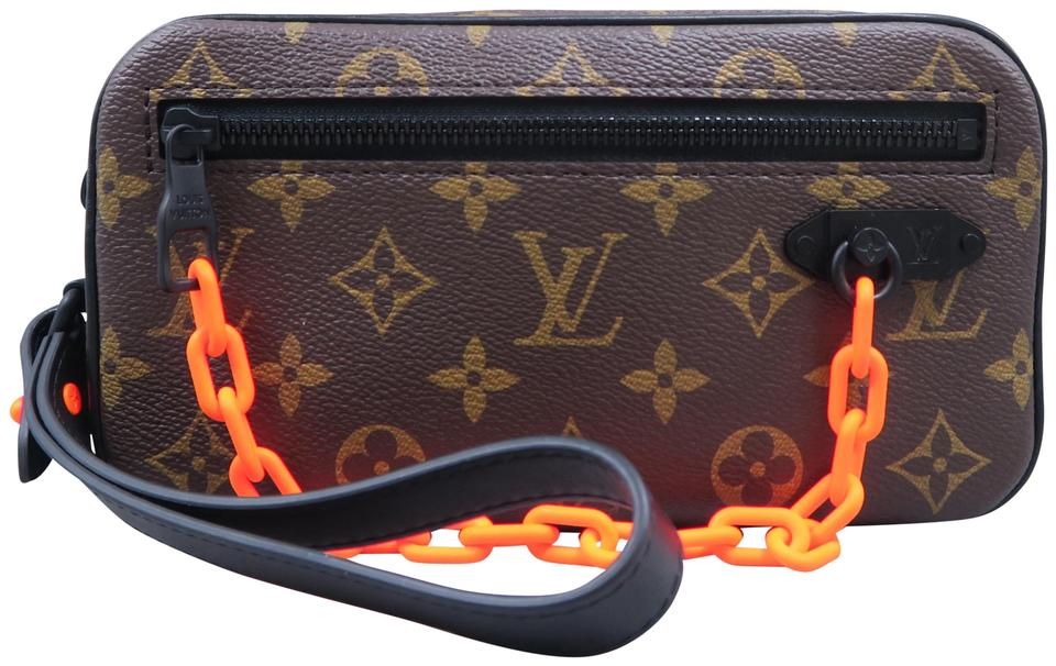 fb5d9e87c3 Louis Vuitton Pochette Volga Monogram Brown Canvas Clutch