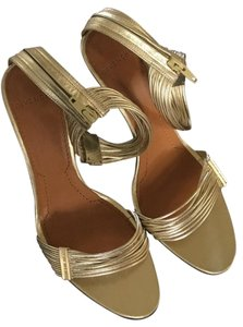 Givenchy gold Sandals