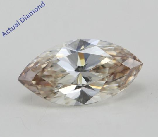 CaratsDirect2U Marquise Loose Diamond 0.97 Ct Light Brown Vs2 IGL C574 Image 1