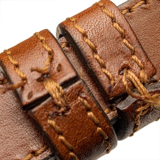 Burberry 9cbust008 Vintage Leather Satchel in Brown Image 11
