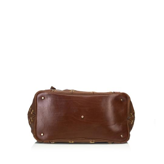 Burberry 9cbust008 Vintage Leather Satchel in Brown Image 3