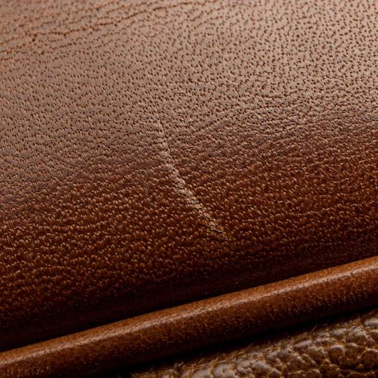 Burberry 9cbust008 Vintage Leather Satchel in Brown Image 9